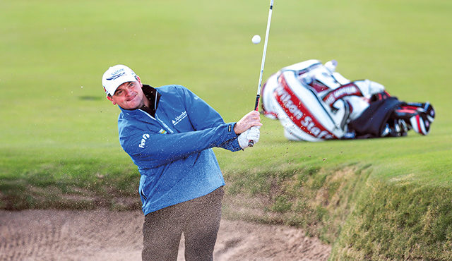 TWO HEAVYWEIGHT NAMES IN SCOTTISH GOLF PARTNER UP