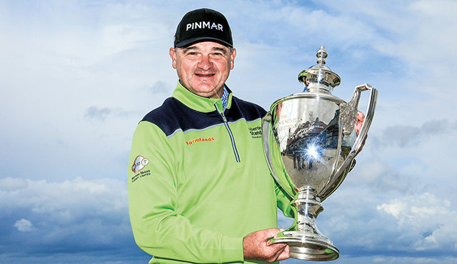 The Scot claimed his fourth title on home soil on his Scottish Senior Open debut. read more...