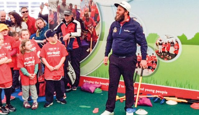 Andrew 'Beef' Johnston has been named as the first of a series of new ambassadors for the Golf Foundation
