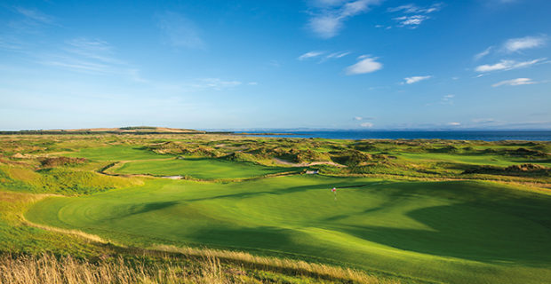 THE LATEST JEWEL IN  SCOTLAND'S GOLFING CROWN