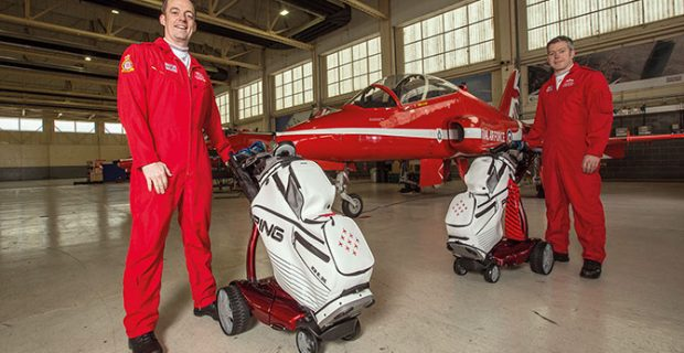 Stewart Golf teams up with Red Arrows