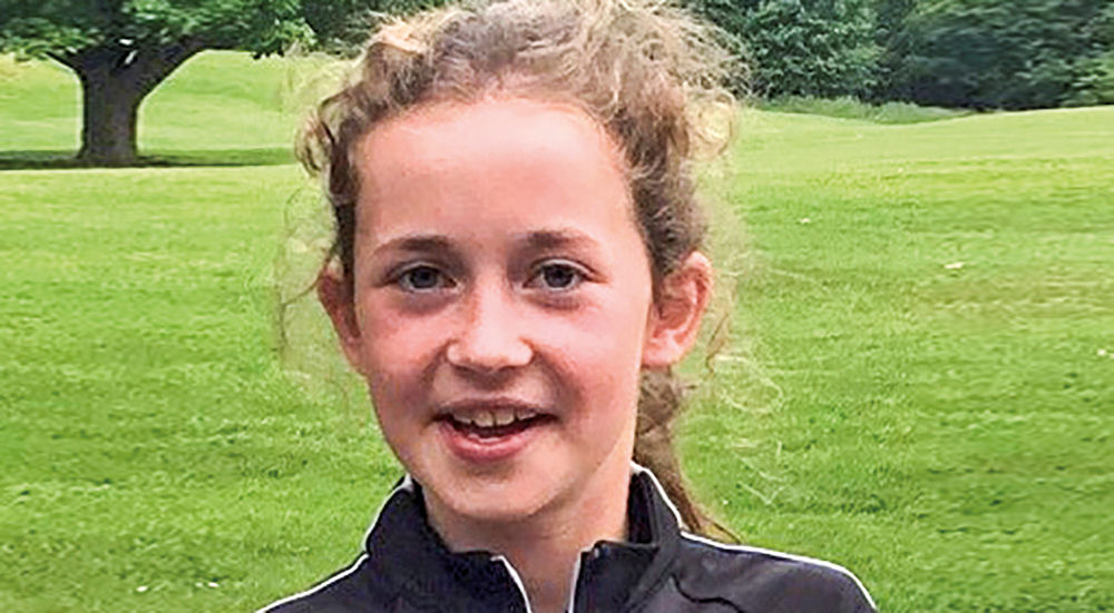 North Berwick's Grace Crawford was the youngest Scottish Golf representative at the recent Moroccan Junior Invitational at Samannah Golf Club in Marrakech.