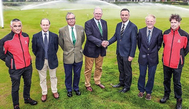 Royal St George's has signed a deal