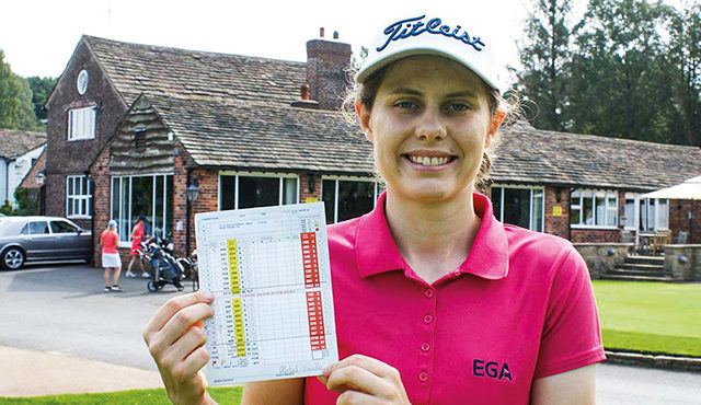 Teen star rips up course record