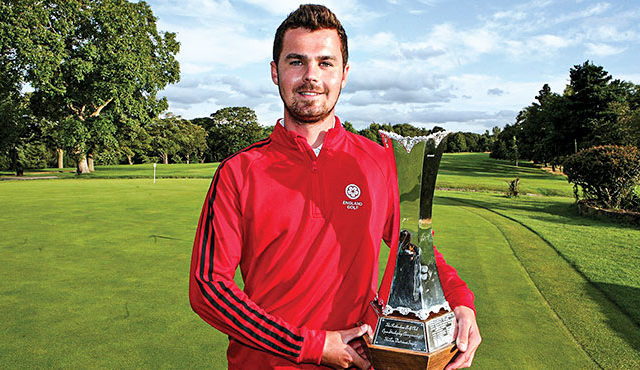 The Englishman clinched the trophy at Rotherham Golf Club in dramatic fashion. Read more...