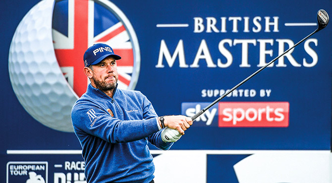 Betfred British Masters host Lee Westwood