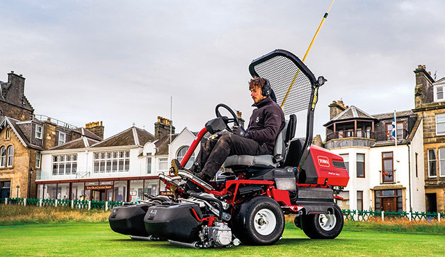 St Andrews Old Course embraces future tech with Toro