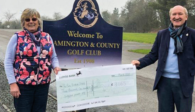 Despite the ongoing COVID-19 pandemic, members from the ladies section of Leamington and County Golf Club have raised more than £4,000 for dementia charities over the course of a year.