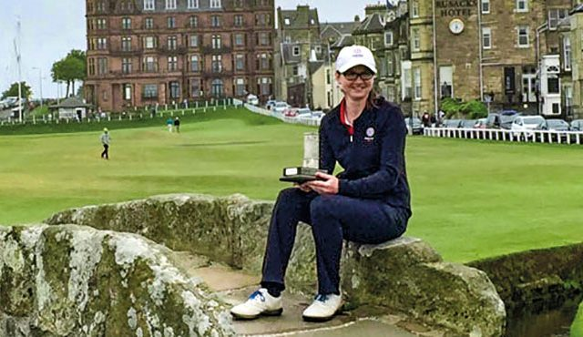 England international Lianna Bailey won her first top amateur title as she claimed a slender one-shot victory