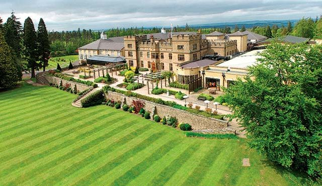 Slaley Hall has emerged as a surprising passage for overseas tourists who are heading to Scotland