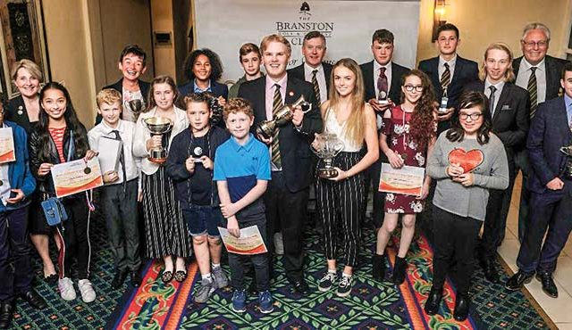 BRANSTON Golf Club's annual Junior Awards proved to be a huge success