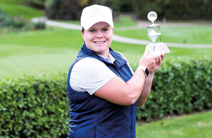 Hall survives play-off scare to win WPGA Challenge event