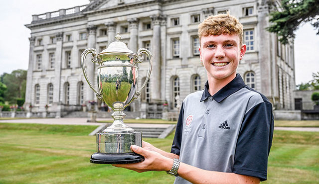 BEN SCHMIDT became just the fourth golfer in history to win both the Brabazon Trophy and the Carris Trophy in the same year, joining some illustrious names in the process. Read more...