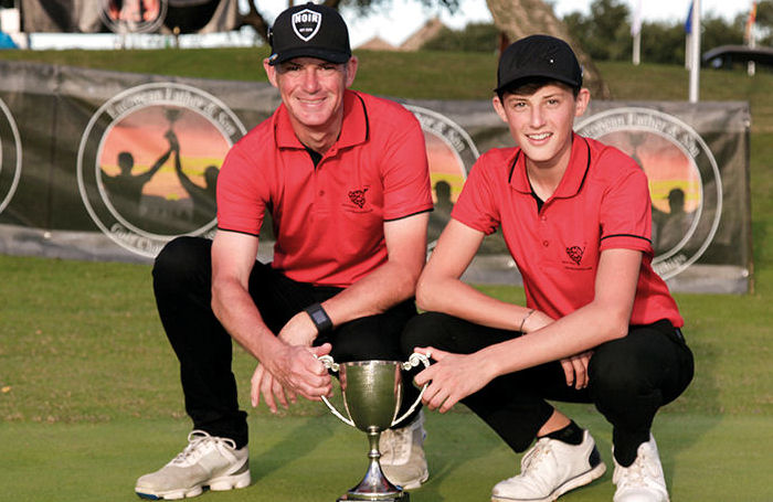 Father & son land 'dream' title in spain
