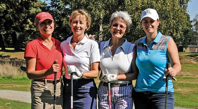 Women golfers to the fore at Burhill