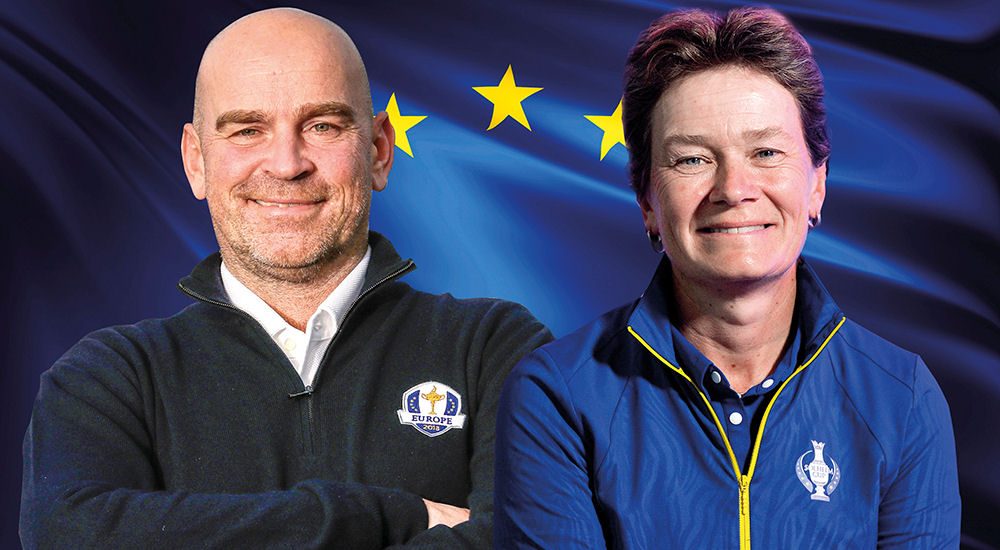 European Ryder Cup captain Thomas Bjørn and Solheim Cup captain Catriona Matthew will join forces in a world first for professional golf at the innovative GolfSixes.