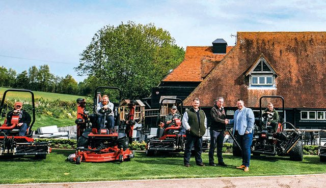 Boughton Golf Club has opted for a deal with Toro in order to assist in the expansion of the golf course