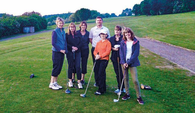 Wycombe Heights Golf Centre is showing