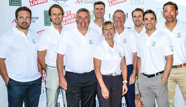 CELEBRITY GOLF DAY RAISES OVER £20,000 FOR WORTHY CAUSE