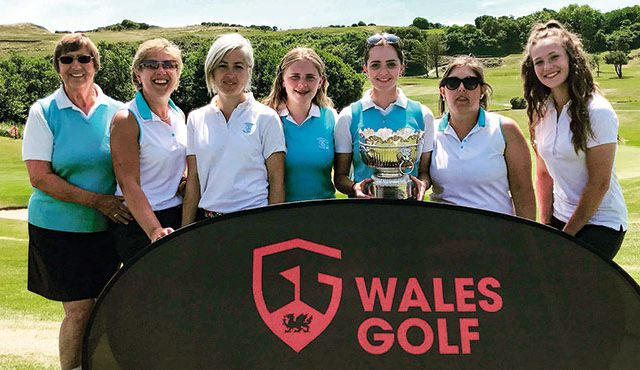 Wales International Georgia Lewis steered Southerndown to the Welsh Ladies Team Championships title