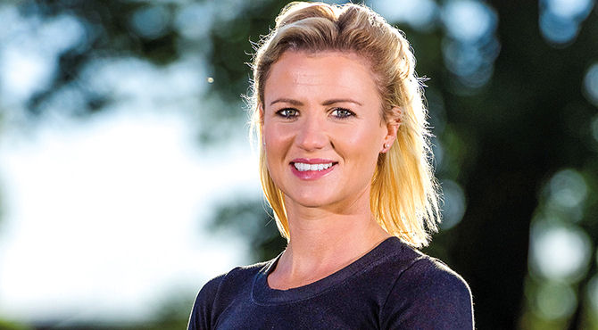 A former Ladies European Tour pro has launched a business venture she hopes will set young golfers on the path to a successful career.