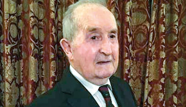 recognised by his fellow members after recently celebrating his 90th birthday