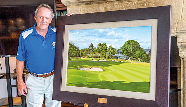ROYAL MID-SURREY PAINTING UNVEILED