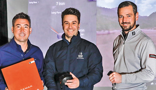 THE GOLF ACADEMY at Lough Erne has recently added a state-of-the-art Trackman 4 system.