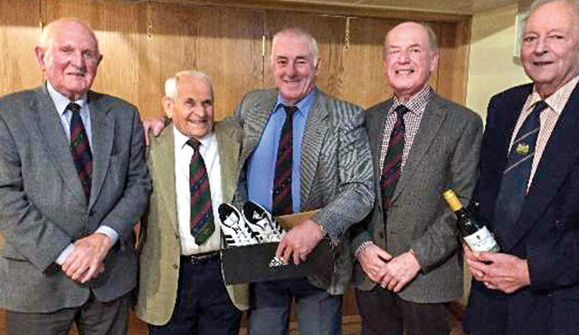 Farmers' Golf Society were relieved to get back into action
