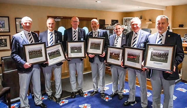 The annual dinner and prize giving was held at Stirling Golf Club. THE ANNUAL Scottish Seniors Golfing Society dinner and prize giving was another huge success, reflecting the continued growth of the society. Formed in November 2006, credit for the development of the society goes to former amateur internationalist Gordon MacDonald, and this proved to be ingenious. It was initially formed to meet the high demand from a significant number of senior amateur golfers still desperate to play regular golf...