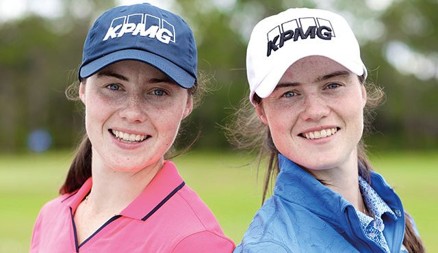 Irish twins Leona and Lisa Maguire have joined Modest! Golf's growing stable of players