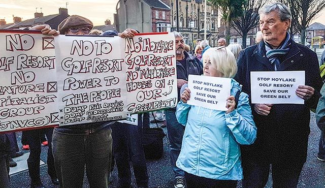 HOYLAKE GOLF RESORT IS HOUSING 'SMOKESCREEN', SAYS LOCAL ACTION GROUP