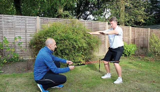 Gavin Ryan is out to educate golfers on the link between good fitness and on-course performance