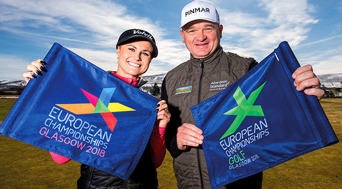 Lawrie and Booth named Glasgow 2018 ambassadors