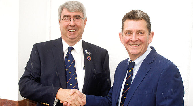 Peter Whitehead is relishing the challenges he has undertaken by becoming the new Cheshire County Secretary at Cheshire Union of Golf Clubs Ltd and also acting as Company Secretary.