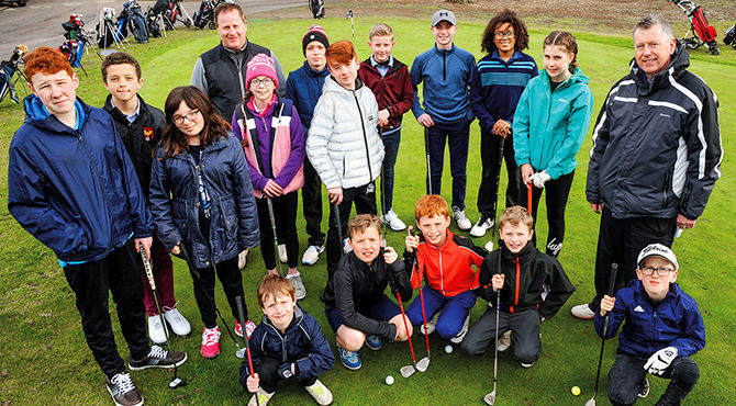 Hot on the heels of the European Tour's GolfSixes, Branston Golf & Country Club has introduced its own variation called Junior GolfSixes
