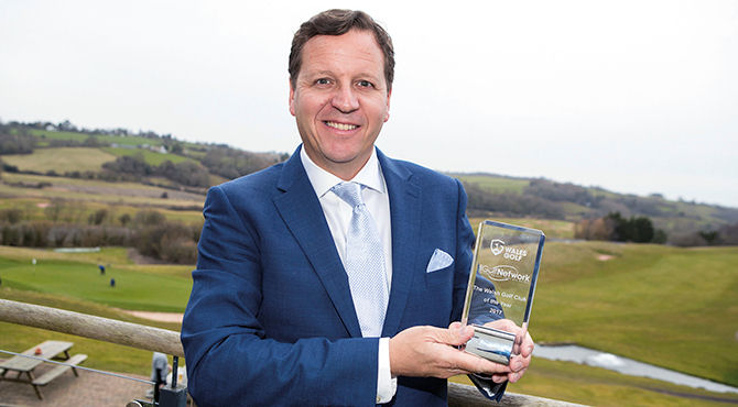 Bryn Meadows Golf Hotel & Spa is celebrating after being named Welsh Golf Club of the Year at the Wales Golf Awards.