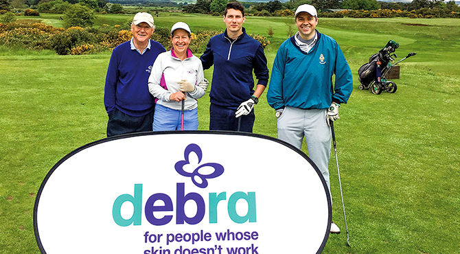 DEBRA golf society a 'lifeline' for families