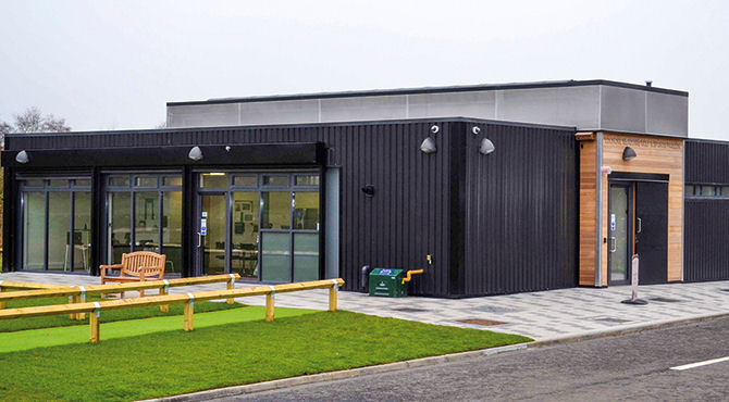 Sharing's caring with new Lochore Meadows facility